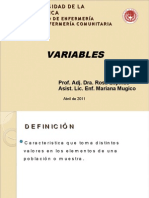 2. Variables
