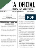 Gaceta Oficial 4.044E P1 - Instalaciones Sanitarias