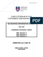 AIS510 PBL Package July-Dec09