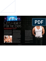 Las Vegas Magazine features Jeff Timmons at Chippendales