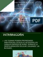 Tetrodotoxin y Saxitoxina