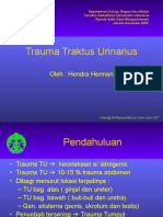 Trauma Traktus Urinarius Hendra 2011