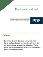 Tipos de Manifestaciones de Patrimonio