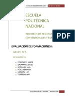 Registros de Resistividad Convencionales y Enfocados