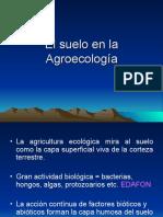 El Suelo en La Agroecologia