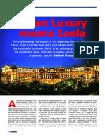 Leela Luxury
