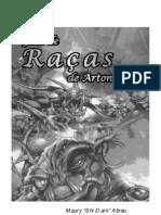 Tormenta RPG - Guia de Raças de Arton