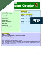 Student Bulletin May 27