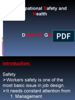 0.1 - Occupatioanal Safety and Heallth