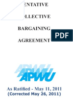 APWU Contract 2010-2015 - Corrected 5/26/2011