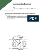 Electrodynometer