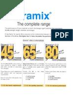 Dramix Performance Comparison