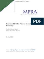 Source of Public Finance in Islamic Economy