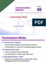 Ccnet Lec 05 Transmission Media