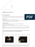 Design Your Own Suit (Step 5) - Bespoke Way Inc.