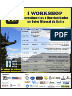 Cartaz Workshop