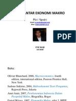 Pengantar Ekonomi Makro Juli 20103