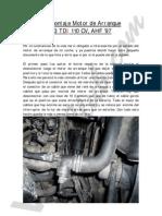 Botan Desmontar Motor Arranque Tdi 110