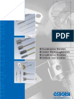 Osborn Micro Abrasive Brushes Catalogue