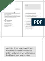 Albrecht Müller u Lieb  Nachdenken über Deutschland 10-11 Sozialstaat Medien Zerstörung kjb_2010_2011_inhaltsverzeichnis_und_leseprobe