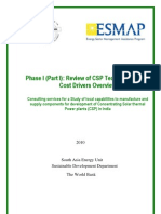 Review of CSP Technologies and Cost Drivers in India_2010_World Bank_Part 1