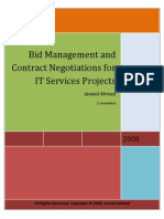 Bid Management and Negotiations