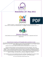 Newsletter 25th May 2011
