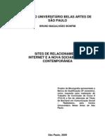 SITES DE RELACIONAMENTO INTERNET E A NOVA SOCIABILIDADE CONTEMPORÂNEA