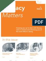 Literacy Matters Summer 2011