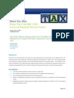 Deloitte DTC Impact Financial Services