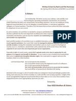 Election Letter 2011-Concise Version