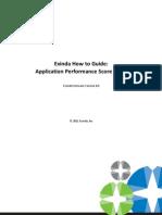 Application Performance Score Exinda