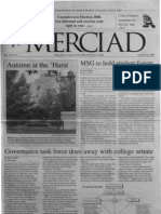 The Merciad, Oct. 25, 2000