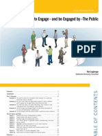 Using Online Tools to Engage the Public