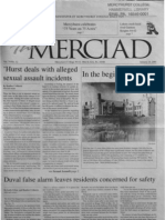 The Merciad, Jan. 24, 2001