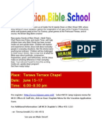Vacation Bible School Docx Flyer 2011 Docx 2 Final Copy 23 May 2011 (2)