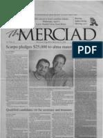 The Merciad, April 4, 2001