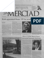 The Merciad, May 2, 2001