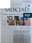 The Merciad, Sept. 19, 2001