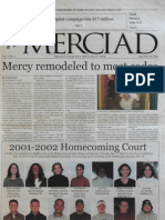 The Merciad, Sept. 26, 2001