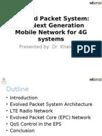 Evolved Packet System WiSense Seminar May 19 2011