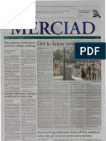 The Merciad, Sept. 26, 2002