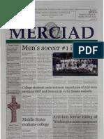 The Merciad, Nov. 7, 2002