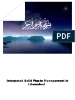 Solid Waste Management in Islamabad