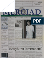 The Merciad, Jan. 16, 2003