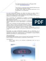 Instalacion de La Pantalla Multifuncion en Peugeot 206