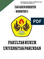 Soal UAS Semester II