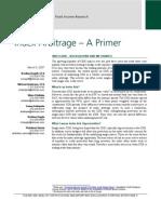 Lehman - Index Arbitrage – A Primer