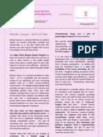 Outreach Newsletter 1