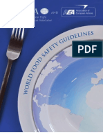 IFSA - World - Food - Safety - Guidelines